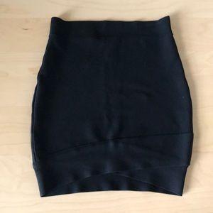 BCBG MAXAZRIA Bodycon Skirt with Tulip Hem